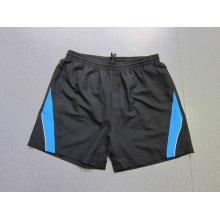 Yj-3026 Mens microfibra Drawstring Track Shorts elástica cintura ginástica desgaste homens