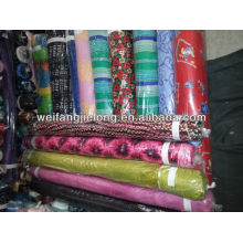 100% rayon printed fabric in stock