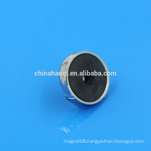 ferrite high quality round ceramic magnet pot