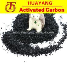 8 x 30 carbón activado a base de coco para la extracción de oro
