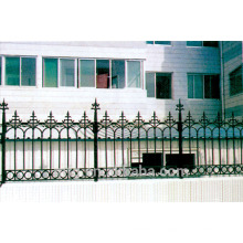 Modelos decorativos de primera calidad promocionales de las puertas y de la cerca gris del arrabio
