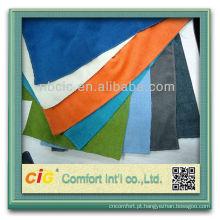 Moda muito elegante ningbo fabricante matéria têxtil home poliéster brilhante chenille cor de tecido para o sofá