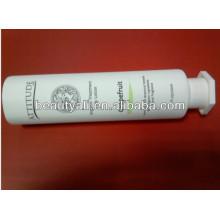 Tubo branco de plástico branco octagon cap