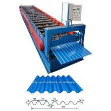 Trapezoidal Profile And Tile Profile Machine For Roofs