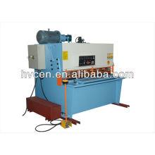 Máquina de corte hidráulica caseira qc12y-6x1600