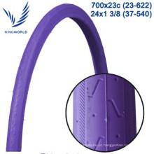 pneumático e tubo de bicicleta de 700 * 23 c