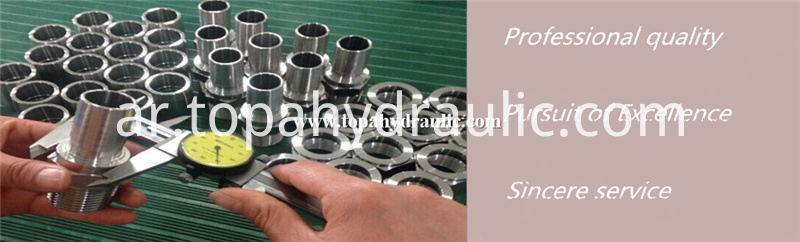 Parker high pressure hydraulic fittings