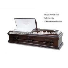 Caixão de cremação judeu de judeu-006