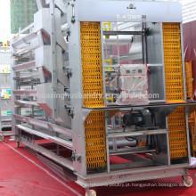 Equipamentos automáticos de coleta de ovos e gaiolas