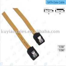 Serial ATA SATA Data Cable For HDD Hard Drive