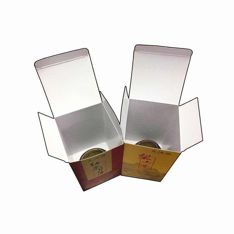 Tea Single Powder Card Box