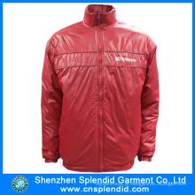 2016 venda quente inverno jaquetas vermelhas para homens com alta qualidade