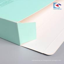 caja de empaquetado de papel al por mayor de la mascarilla de la cara del precio bajo