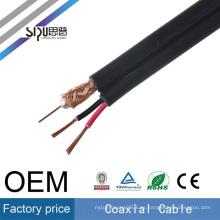 SIPU de alta velocidad RG59 + 2c potencia coaxial mayorista rg59 video cable de alimentación mejor precio CCTV cable