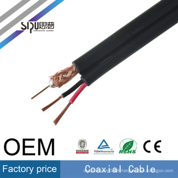 SIPU high speed RG59+2c power coaxial wholesale rg59 video power cable best price CCTV cable