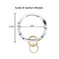 Изготовленное на заказ кольцо для ключей с силиконовым браслетом