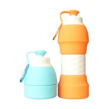 Muticolored Scalale Sports Silicone Bottle