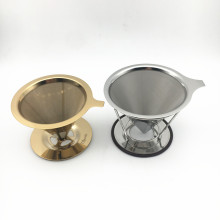 Food Grade 304 Stainless steel Drip Coffee Filter Used For Coffee Maker