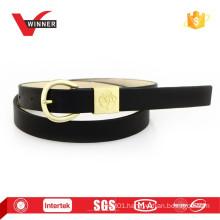 2015 New design women PU metal loop Belts