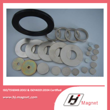 China Manufacture High Quality Zinc Ring Shape NdFeB Magnet