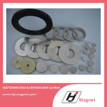 Китай производство высокого качества цинка кольцо формы неодимовый магнит