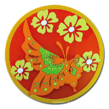 Estera plástica de la flor de la taza (Coaster-05)