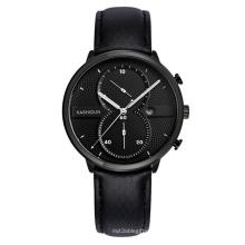 Relógio de couro de produtos mais populares