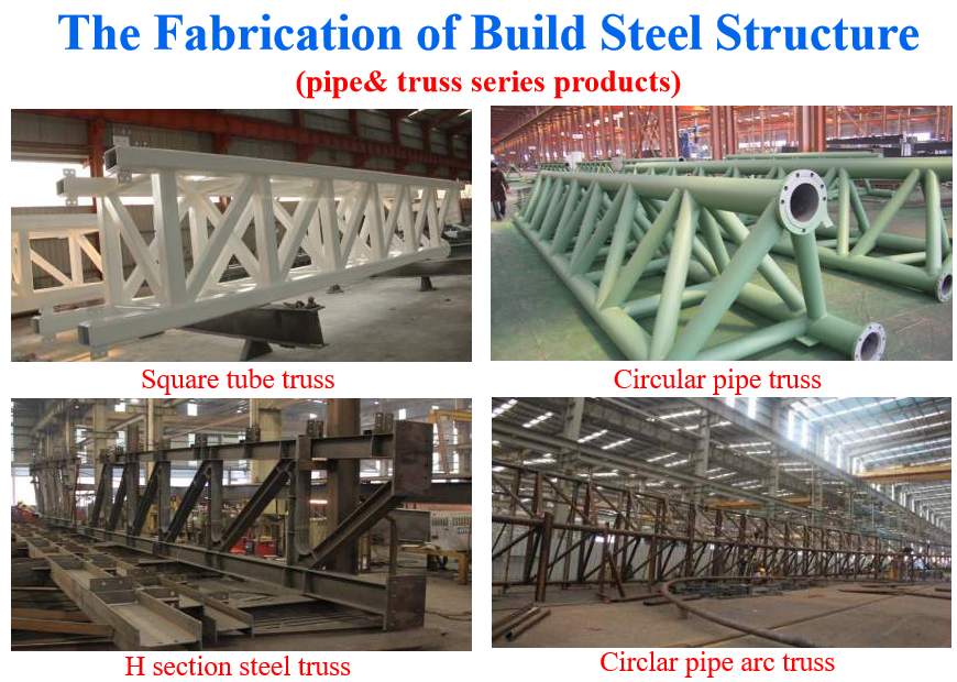 the fabrication of building steel structure five