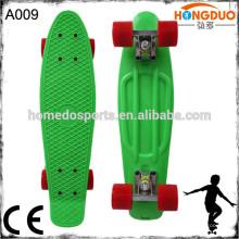 4 rodas cruzador completo mini peixe skateboard