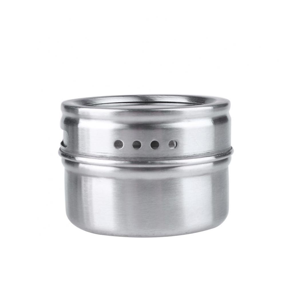 Stainless Steel Spice Canisters