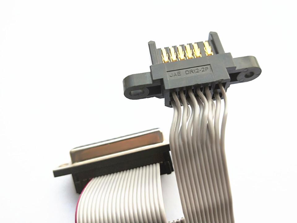 JAE DR12-2p connector