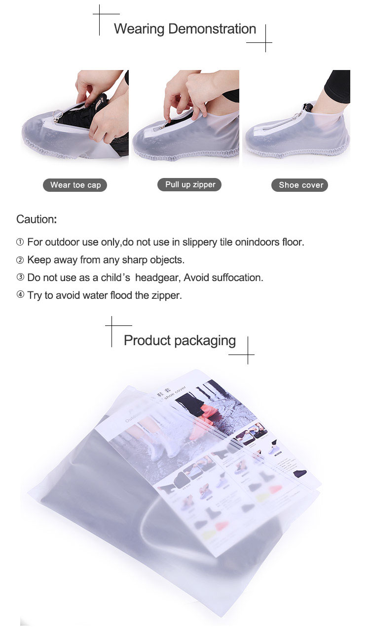 Rain Proof Silicone Shoe Covers