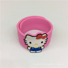 Eco-Friendly Cute Slap Silicone Customizable Wristband