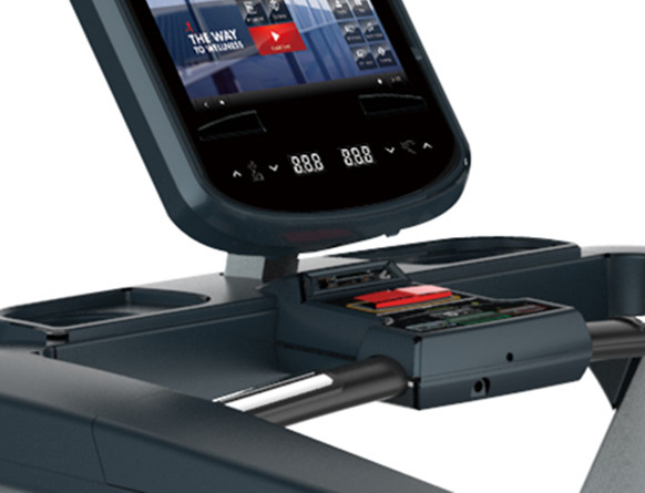 Tapis roulant commerciale con touch screen
