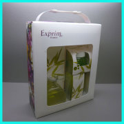 Fashion New Listing France Moisturizing Skin Care Products Series PP Plastic Cosmetic Packaging Boxes with Clear Window