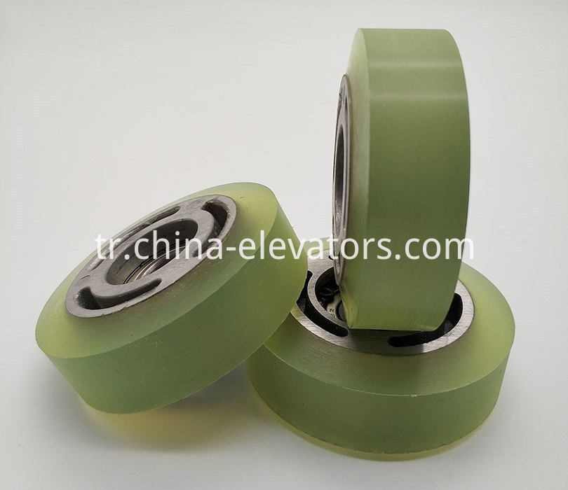 Step Chain Roller for Mitsubishi Escalators 76*25*6202