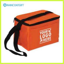 Promoção poliéster 6 pode capacidade isolada Beer Cooler Bag