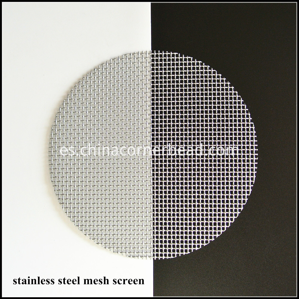 stainless steel mesh screen 50 bright silver