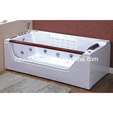 White Acrylic Sanitary Whirlpool Massage Bathtub (OL-675)