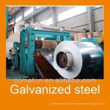 Bobina de aço tolerância galvanizada de alta qualidade: mais de + - 10%