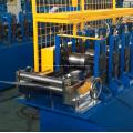Máquina formadora de rolo de porta perfurada do obturador