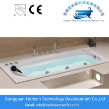 Embedded bathtub whirlpool jet tub