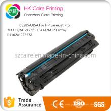 Cartucho de tonalizador compatível de CE285A 85A para HP Laserjet PRO M1132 / M1212NF / CE841A / M1217nfw / P1102W / CE657A