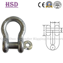E. Galvanized Us Type Forged Bow Shackle