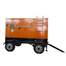 diesel powered electric generators YUCHAI 80KW