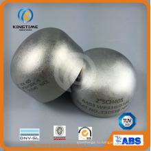 Нержавеющая сталь 304/304l штуцеры трубы сварное соединение встык SS колпак (KT0323)