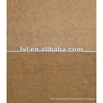 2.5 mm rough mdf board usd for car frame