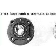 Unidades de cartucho de flange de 4 parafusos Série Ucfc200 (UCFC206)
