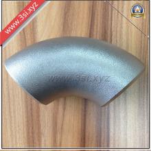 Tope de acero inoxidable soldadura de codo (YZF-ZM09)