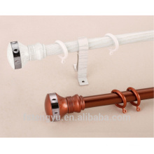 new design window decorative aluminum curtain pole